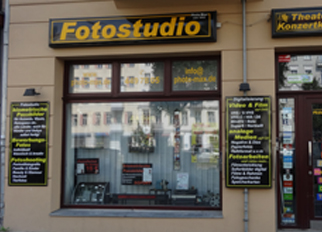 Aussenansicht Fotostudio Photo-Max